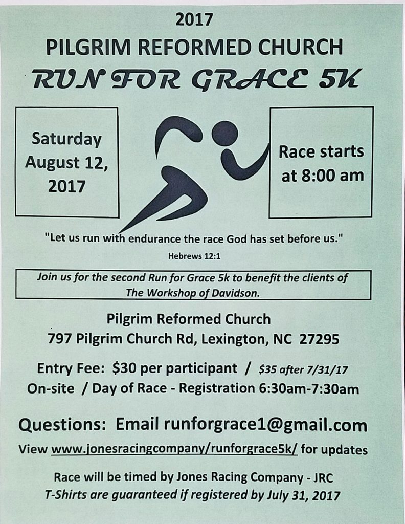 2017 Run for Grace flyer